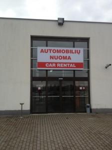 Automobiliu nuoma Kaunas